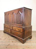 18th Century Welsh Oak Two Part Chest (11 of 13)