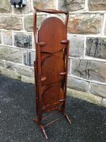 Antique Edwardian Inlaid Mahogany Stand (4 of 11)