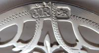 Sheffield 1899 Hallmarked Solid Silver Nurses Belt Buckle Joseph Rodgers & Sons (7 of 8)