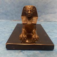 19th Century Bronze  Egyptian  Sphinx (10 of 11)