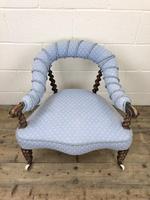 Victorian Mahogany Barley Twist Chair (2 of 10)