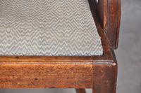 18th Century Mahogany Hepplewhite Armchair (10 of 10)