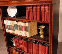 Open Bookcase in Mahogany and Inlays (12 of 13)