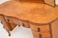 Queen Anne Style Burr Walnut Dressing Table c.1930 (9 of 9)