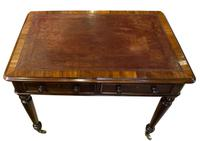 Mid 19th Century 2 Drawer Mahogany Writing Table (5 of 9)