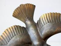 Art Deco Bronze Swooping Seagull (6 of 6)
