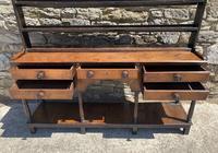 Antique Georgian Oak Potboard Dresser (17 of 28)
