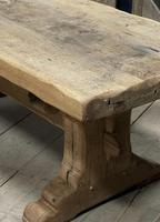 Superb Very Rustic French Oak Bleached Oak Farmhouse Dining Table (27 of 32)