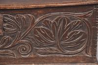 17th Century Oak Leaf Carved Box (7 of 8)