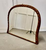 Victorian Rope Carved Pine Overmantle Mirror (9 of 9)