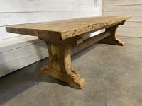 Rare Huge 3m Bleached Oak Farmhouse Table (22 of 23)