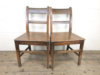 Pair of Welsh Antique Oak Farmhouse Chairs (3 of 11)