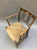 Regency Painted Sussex Chair (8 of 12)
