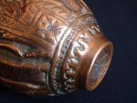 Early 19th Century Engraved Persian Copper Vase (4 of 16)