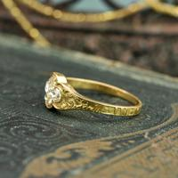 The Late Victorian Spencer of Charlotte 1892 Four Diamond Memory Ring (5 of 10)