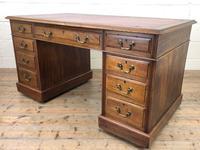 Antique Kneehole Desk (7 of 12)