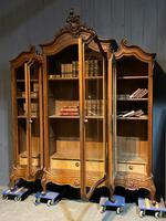 Wonderful French Walnut Bookcase or Cabinet (16 of 25)