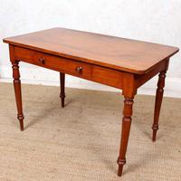 Edwardian Mahogany Writing Desk Table (6 of 12)