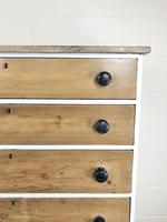Victorian Pine Tall Chest of Drawers (7 of 9)