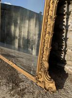 Large Victorian Gilt Overmantel Mirror (9 of 20)