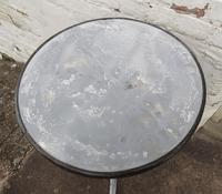 French Iron & Marble Bistro Table Mid 19th Century (10 of 12)