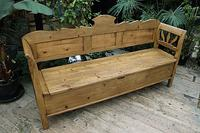 Fabulous Old (Victorian) Hungarian Box/ Storage/ Hall Bench (10 of 11)
