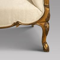 19th Century Giltwood Chaise Longue (5 of 5)
