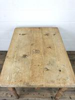 Antique Pine Farmhouse Kitchen Table (7 of 10)
