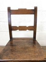 Pair of Country Bar Back Chairs (5 of 8)