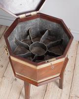 George III Mahogany Brass Bound Wine Cooler (6 of 8)