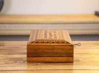 Rosewood Tunbridge Ware Table Box 1880 (6 of 9)