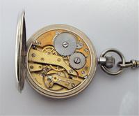 Antique 1930s Moeris Pocket Watch & Chain (6 of 6)