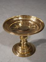 Early 19th Century Turned Brass Tazza (2 of 5)