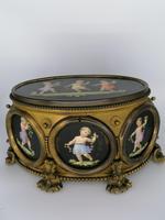 X Large Brass Framed Casket / Box c.1850 (7 of 7)
