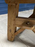 Scandinavian Style Bleached Oak Farmhouse Table (4 of 14)