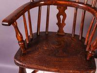 A Near Pair of Childs Yew Wood Windsor chairs (13 of 14)