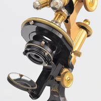 Antique Monocular Microscope by Ernst Leitz Wetzlar Retailed by Ogilvy & Co London c.1925 (9 of 15)