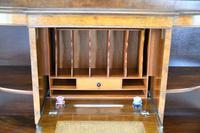 Early 20th Century Walnut Writing Cabinet (7 of 12)