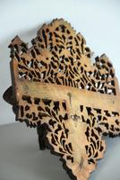 Anglo Indian Pierced & Carved Wall Bracket (4 of 6)