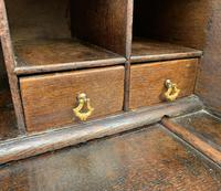 18th Century Georgian Oak Crossbanded Bureau (6 of 22)