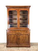 Antique Mahogany Two Stage Bookcase (2 of 10)