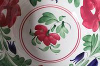 Late 19th Century Scottish Spongeware Pottery Bowl Persian Rose Pattern (23 of 23)