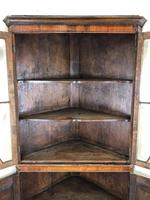 Antique Early 19th Century Oak Standing Corner Cupboard (4 of 7)