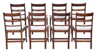 Set of 8 Georgian Mahogany Dining Chairs 19th Century c.1800 (2 of 7)