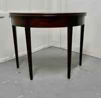 19th Century Mahogany Demi-lune Turn Over Top Tea Table (2 of 5)