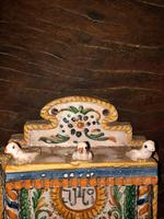 Baroque Italian Majolica Holy Water Stoup c.1740 (8 of 10)