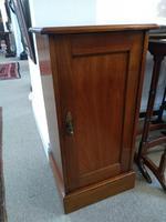 Edwardian Mahogany Bedside Cupboard (2 of 5)