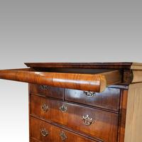 Queen Anne Walnut Drinks Cabinet on Stand (4 of 11)