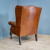 Wingback Leather Armchair (11 of 12)