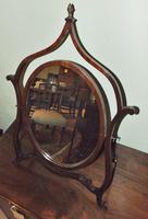 Mahogany Mahogany Framed Dressing Mirror (6 of 6)